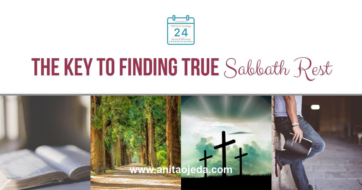 Looking for Sabbath rest? Maybe the key to finding true rest isn't so much in the way, as in the day. #sabbathrest #rest #anxiety #worry #relationship