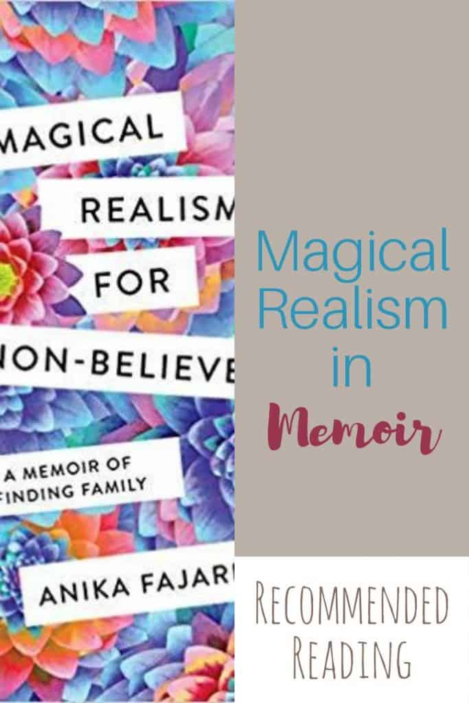 I've read books with magical realism, but never seen magical realism in memoir. Columbia provides the magic while Anika Farjado searches for family. #amreading #memoir #magicalrealism