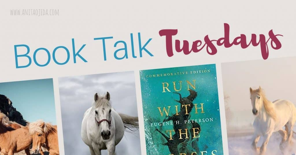 If you've ever wondered if the prophet Jeremiah was more than just a whiner (is it sacrilegious to say that?) read this book. Run with the Horses, by Eugene H. Peterson, will take you on an unexpected journey through Jeremiah's life. #InterVarsityPress #NetGalley #amreading #bookreview