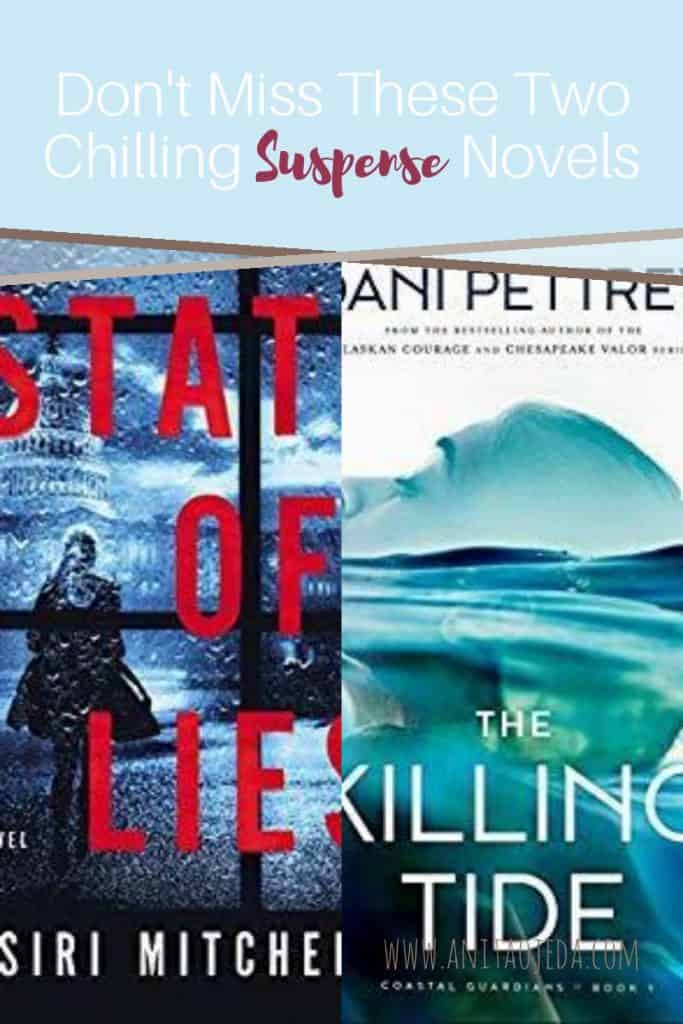 Love suspense novels? These two new releases from Siri Mitchell and Dani Pettrey will keep you guessing (and up late at night). #amreading #bookreview #suspense