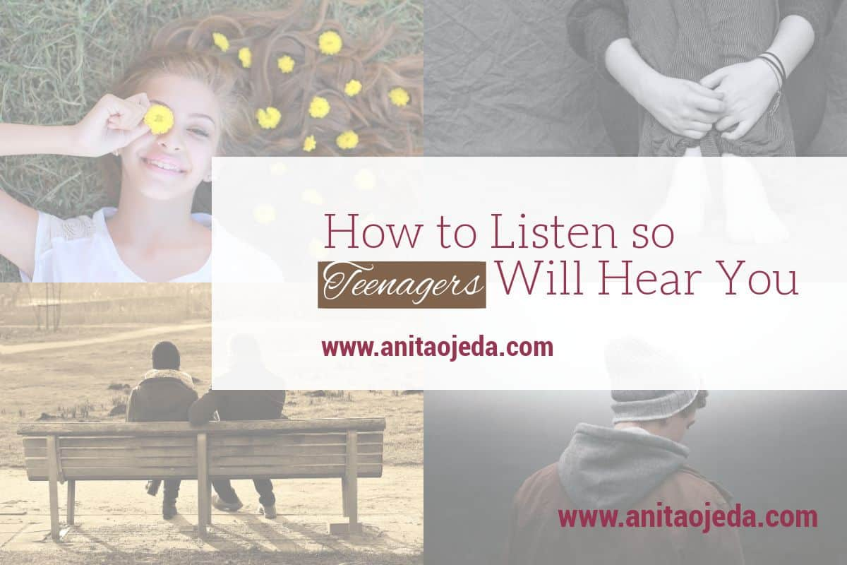 Know some teenagers? Then you probably know confusion. And frustration. Teenagers just don't seem to listen. But maybe they aren't the ones with the problem. Maybe YOU need to learn to listen well. #listen #fmfparty #parenting #communication #relationships