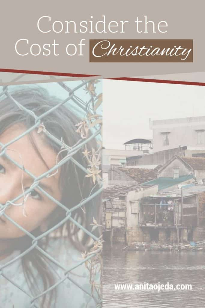 Does it cost anything to be a Christian? It depends on how you define 'Christian.' Think about it before you answer the question. #Christian #cost #Discipleship #socialjustice