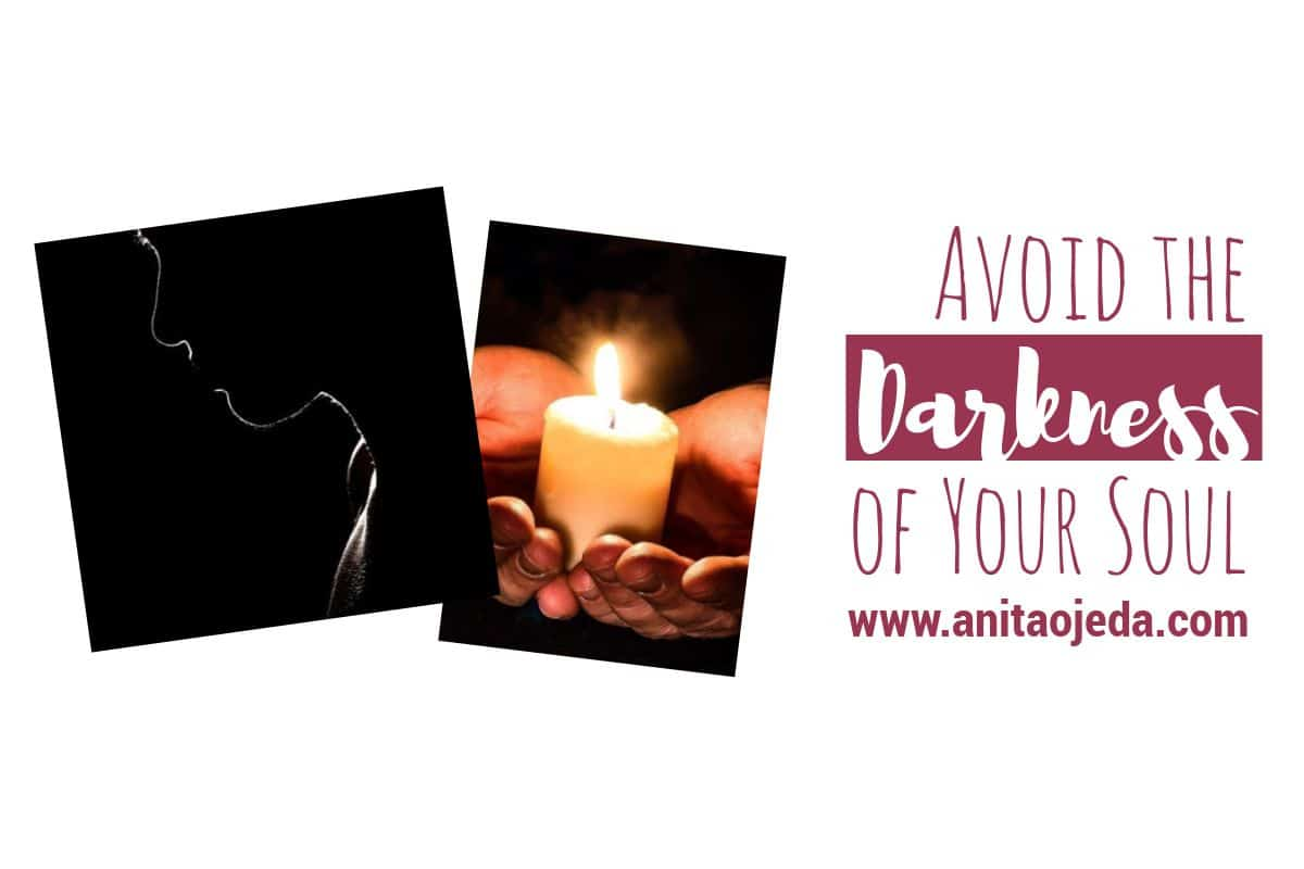 Self-care involves more than just taking care of our bodies—it means taking care of our souls, too. I offer two unusual examples of self-care that will help you move out of the darkness and into the Light. #forgiveness #selfcare #gift #darkness #light