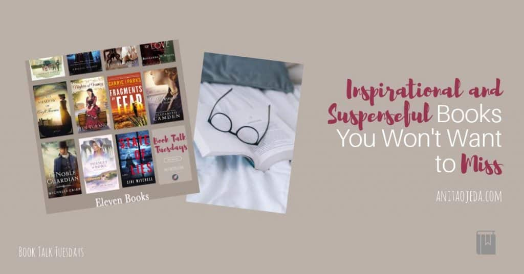 Is reading one of your favorite things? This list of my favorite historical inspirational romance and suspense books might pique your fancy—and give you ideas for using those gift cards Santa left you! #amreading #gifts #inspy #inspyromance #inspirational