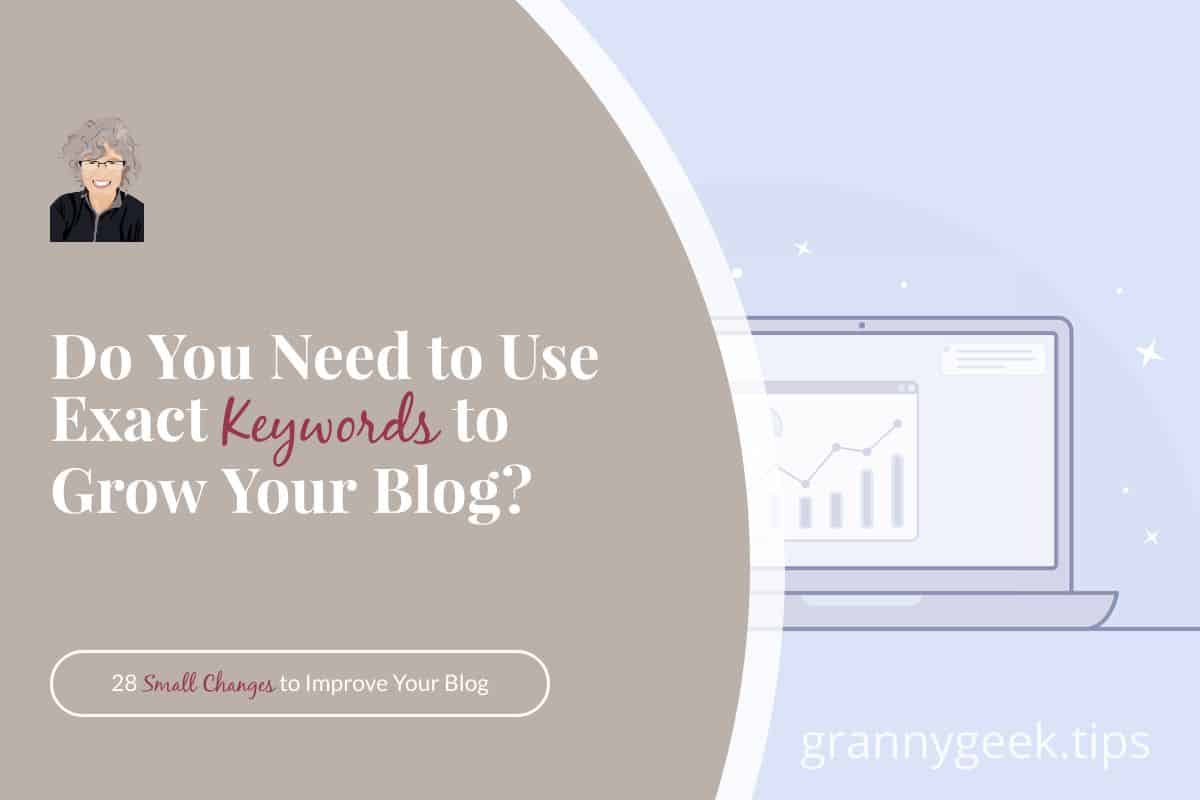 Do you need to use the exact same keyword over and over in order to rank for it? And is a keyword just one word? Find out what you need to know to up your SEO game.