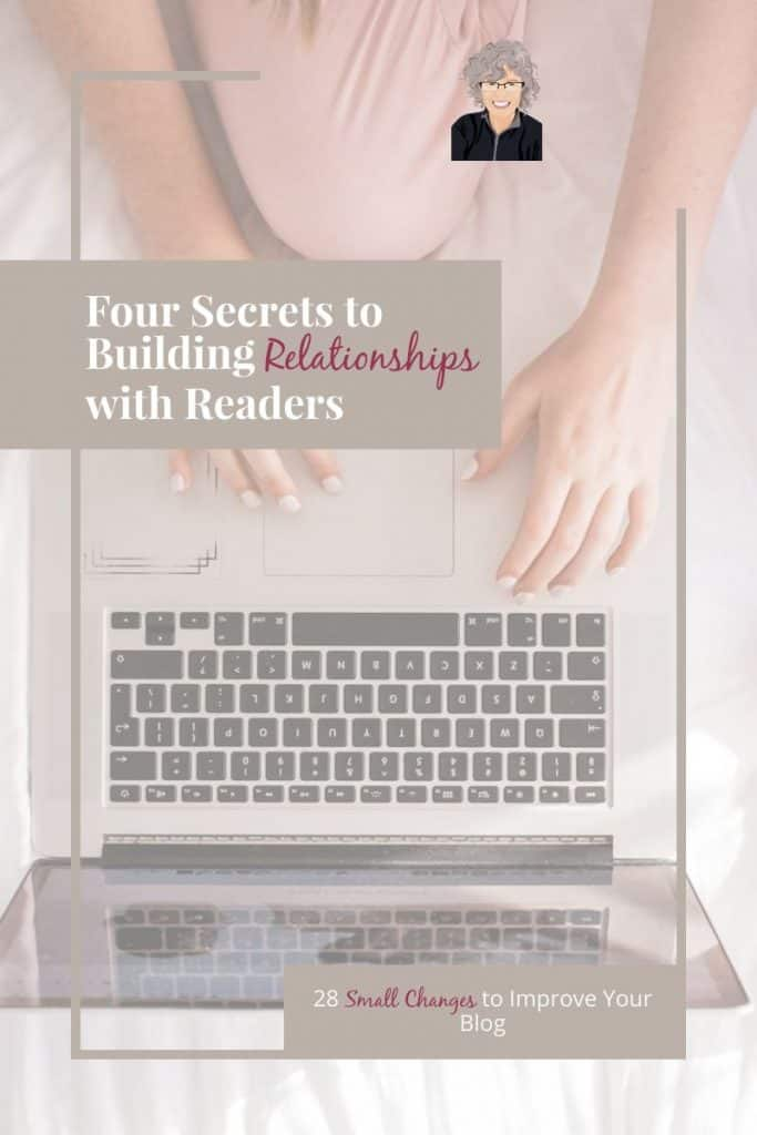 Want to build better relationships with your blog readers? Check out these four engagement strategies which will help you grow your blog authentically. #blogger #authentic #relationships #bloggrowth