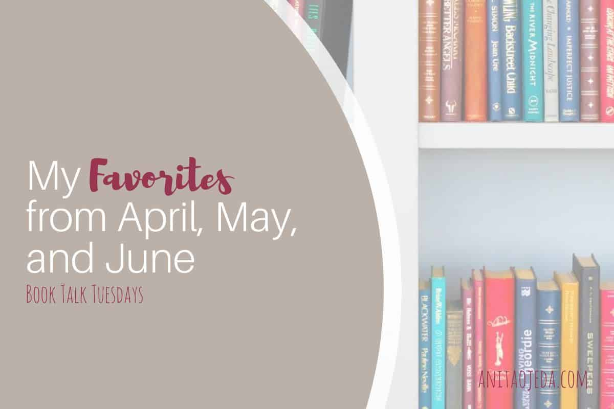 Looking for something to read? Check out my 12 new favorites from April, May, and June of 2020. I have eclectic tastes, so you're sure to find something that will become YOUR new favorite! #amreading #favoritebook #bookreviews #teacher