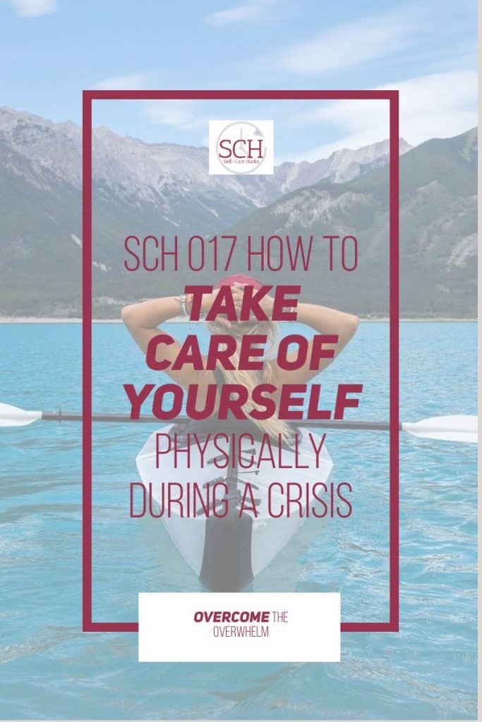 Taking care of yourself physically during a crisis seems like a no-brainer. But trust me, it's not as easy as that. Find out what happens when I failed to take care of myself physically during a cancer crisis on today's podcast episode.#podcast #selfcare #SelfCareHacks #takecareofyourself #physicalhealth #healthychoices #stressmanagement #stress #crisis #lifehacks