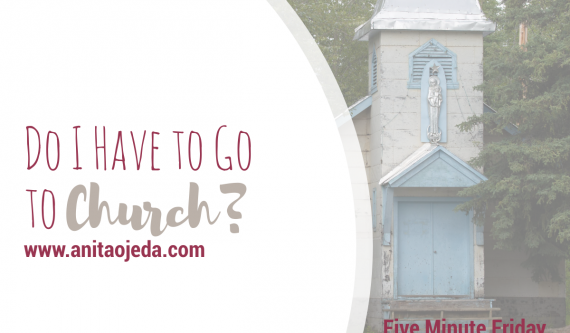 Do I HAVE to go to church? I struggle with that question for many different reasons. Here's what I discovered. #church #religion #relationship #community #fmfparty
